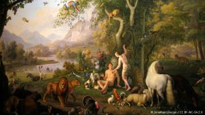 "Preserving God's creation: Adam and Eve in the Garden of Eden - Christians and Jews both believe that God tasked man with protecting His creations: ""The LORD God took the man and put him in the Garden of Eden to work it and take care of it."" Genesis 2: 15"