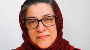 Islamic theologian Hamideh Mohagheghi (photo: Christian Thuermann)