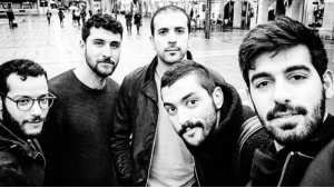 Lebanese Indie rock band Mashrou' Leila (source: Facebook)
