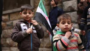 Syrian children (photo: dpa)