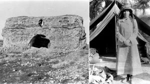 Gertrude Bell, historical images from Iraq (source: gemeinfrei; montage: ard.de)