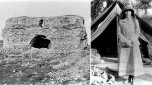 Gertrude Bell, historical images from Iraq (source: gemeinfrei; montage: ard.de)