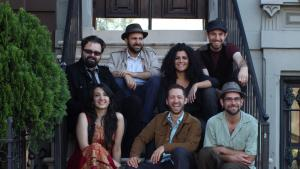 Sandaraa, the Pakistani/Brooklyn musical collaboration fronted by Michael Woodgrad and Zeb Bangash (photo: Sandaraa)