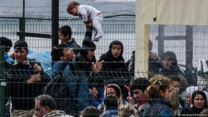 Refugees in Dikili, Turkey