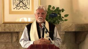 Kabir Helminski, US American sheikh of the Mevlevi dervish order and ″Threshold Society″ founder (source: YouTube)