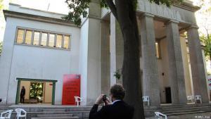 The German pavilion at the Biennale
