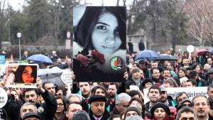 Protests against the murder of Ozgecan Aslan in Ankara (photo: Getty Images/AFP/A. Altan)