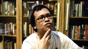 Indonesian novelist Eka Kurniawan (photo: Getty Images/AFP/Goh Chai Hin)