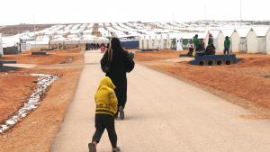 Araq refugee camp, Jordan (photo: Dana Ritzmann)