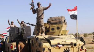The Iraqi army enters Fallujah (photo: Reuters/A. Al-Marjani)
