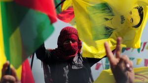 PKK militants in Diyabarkir (photo: STRINGER/AFP/Getty Images)