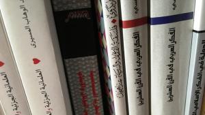 Symbolic image of Arabic books (photo: Loay Mudhoon)