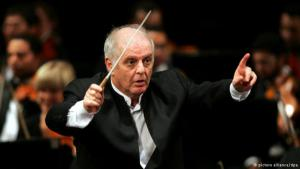 Conductor and music director of the Berlin State Opera, Daniel Barenboim