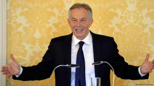 "Former British Prime Minister Tony Blair: ""the world's a better place without Saddam Hussein"""
