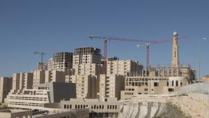 . Rawabi opened its doors to the first residents a year ago. Today, there are around 1,200 residents, but more are expected to move in the next months as the first school opens in September