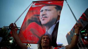 Criticised by his enemies, celebrated by his supporters: President Recep Tayyip Erdogan (photo: Reuters)