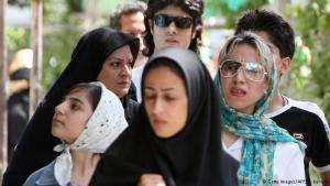Silent resistance: more than 37 years of repression have not eroded the courage of these women. Many Iranian women interpret the dress code very freely. They may wear a veil and a coat, but with an individual twist