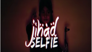 """Jihad Selfie"" (source: YouTube)"