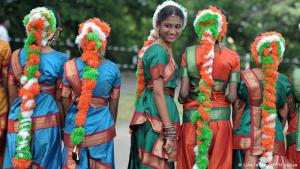 Time to celebrate: millions of people across India marked the country's liberation from the British Raj. The celebrations included dances, parades and ceremonies on all levels of society. India became independent on August 15, 1947 – one day after Pakistan declared its independence