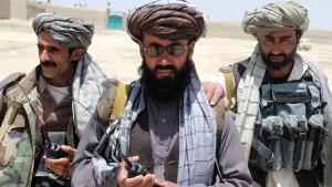 Afghan militias in Ghazni province (photo: DW)