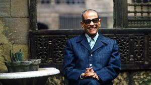 Egyptian author Naguib Mahfouz (11 December 19011 - 30 August 2006)