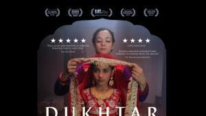 "Film poster advertising Afia Nathaniel′s ""Dukhtar"" (photo: Dukhtarfilm.com)"