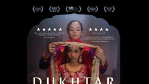 "Film poster advertising Afia Nathaniel′s ""Dukhtar"" (photo: Dukhtarfilm.com)"