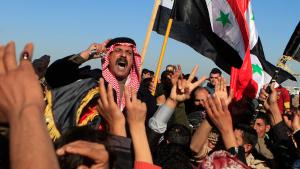 Sunnis in Fallujah protesting against the Baghdad central government on 28.12.2012 (photo: Karim Kadim/AP)