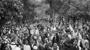 Arab revolt in Palestine in 1936 (photo: Public Domain)