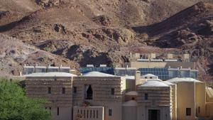 The Feynan Eco-Lodge in Wadi Araba (photo: Claudia Mende)