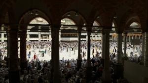 Muslim pilgrims circle the Kaaba at the Grand Mosque in Mecca, Saudi Arabia, 8 September 2016 (photo: Reuters/Ahmed Jadallah)