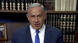 Netanyahu on ethnic cleansing, 9 September (source: YouTube)