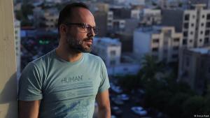 Hossein Derakhshan (photo: Donya Raad)