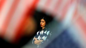 Huma Abedin (photo: Mike Blake/Reuters)