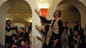 Theatre performance in Tehran (photo: Mehr)