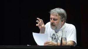 Philosopher Slavoj Zizek (photo: picture-alliance/picturedesk)