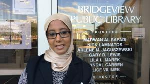 American Muslim Hind Makki (photo: Canan Topcu)