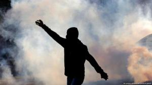 Anti-governmental protests in Bahrain (photo: AP/picture-alliance)