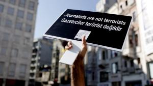Demonstration against media censorship in Turkey (photo: picture-alliance/dpa/S. Suna)