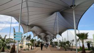 Conference centre in Marrakesh (photo: AP)