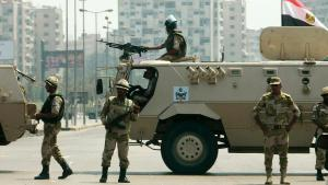 Egyptian army in Cairo (photo: Reuters)