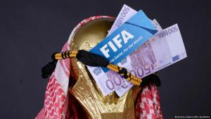 Symbolic image of World Cup 2022 to be hosted by Qatar