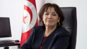 Sihem Bensedrine, president of Tunisia′s Truth and Dignity Commission (photo: Sarah Mersch)