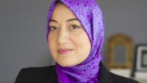 Tunisian Secretary of State Saida Ounissi (photo: Ennahda France)