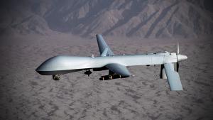 US MQ-1 drone in Yemen (photo: picture-alliance/dpa)
