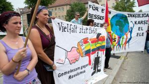 Anti-racism demonstration in Nuremberg, June 2016