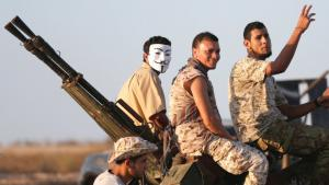 Fighters of the Libya's UN-backed government. Foto: Reuters