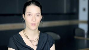 Rebekah Maggor, editor of ″Tahrir Tales: Plays from the Egyptian Revolution″ (source: vimeo)