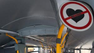 Love forbidden on Iranian buses (photo: Mehr)