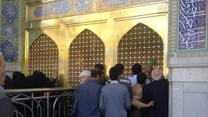 Imam Reza shrine in Mashhad (photo: private)